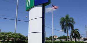 Holiday Inn Express Boca Raton West Exterior Sign