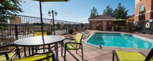 springhill suites ridgecrest pool image